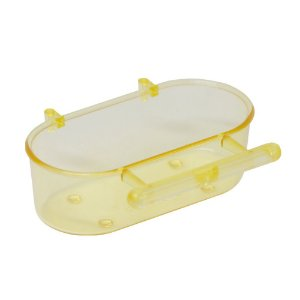 Banheira com poleiro Pequena Amarelo