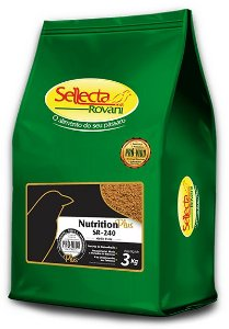 Sellecta - Nutrition Plus SR-240 Médio Porte - 3kg