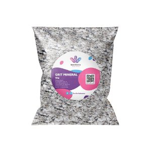 Grit Mineral Pássaros Médio e Grande Porte - 1kg