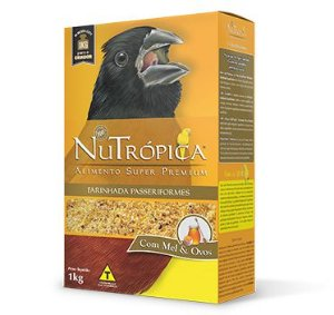 Nutrópica - Farinhada Passeriformes - Curió - 1Kg