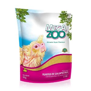 Megazoo - Papa Calopsitas - 500g
