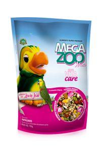 Megazoo - Mix Papagaio Louro Jose - 700g