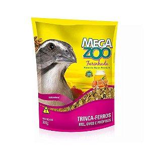 Megazoo - Farinhada Trinca Ferro Mel, Ovos e Propolis - 300g