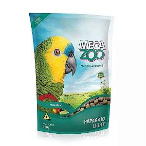 Megazoo - Extrusada Papagaio Light - 600g