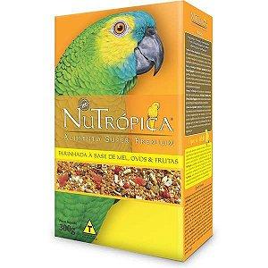 Nutrópica - Farinhada Mel, Ovos e Frutas Papagaios - 300g
