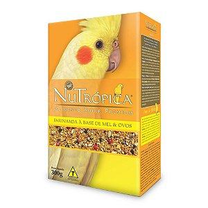 Nutrópica - Farinhada Mel e Ovos Calopsita - 300g