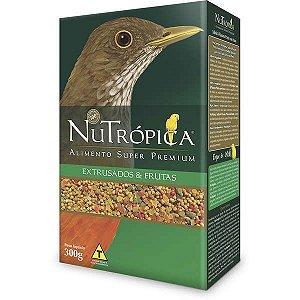 Nutrópica - Sabiá e Pássaro Preto com Frutas - 300g