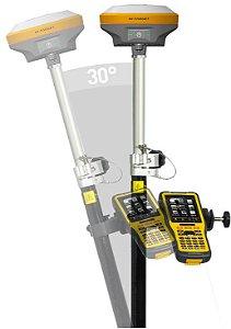 GPS GNSS RTK HI-TARGET V90 PLUS COM RÁDIO INTERNO 2W