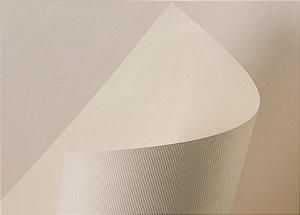 Lote A4-118 - Color Plus Texturizado Marfim Microcotelê - 240g - 25fls