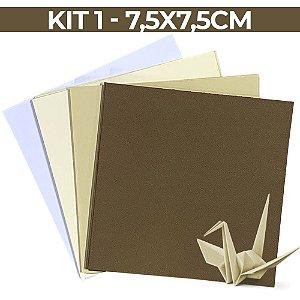 Origami  - KIT 01 - 7,5x7,5