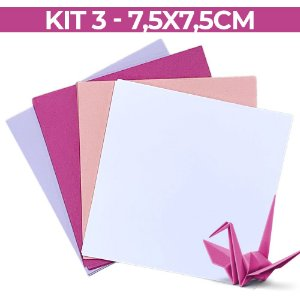 Origami  - KIT 03 - 7,5x7,5
