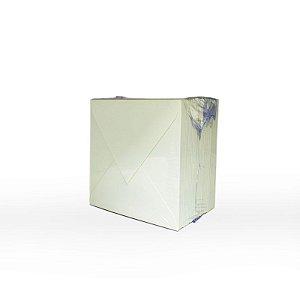 Lote 01 - Envelope Aba Bico 10x10 - 50 unid.