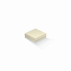 Caixa de presente | Quadrada Color Plus Marfim 10,5x10,5x4,0