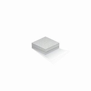 Caixa de presente | Quadrada Color Plus Metálico Aspen 10,5x10,5x4,0