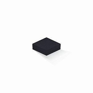 Caixa de presente | Quadrada F Card Scuro Preto 10,5x10,5x4,0