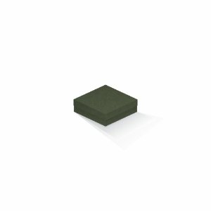 Caixa de presente | Quadrada F Card Scuro Verde 10,5x10,5x4,0