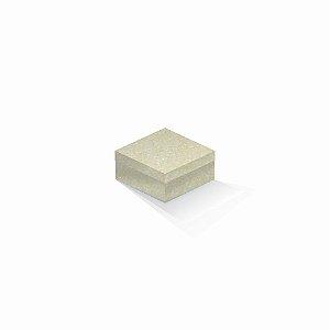 Caixa de presente | Quadrada Color Plus Metálico Majorca 10,5x10,5x6,0