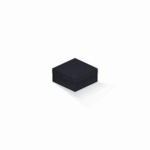 Caixa de presente | Quadrada F Card Scuro Preto 10,5x10,5x6,0