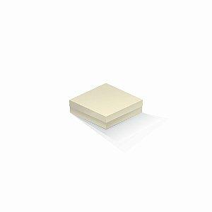 Caixa de presente | Quadrada Color Plus Marfim 12,0x12,0x4,0