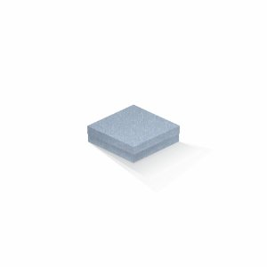 Caixa de presente | Quadrada Color Plus Metálico Mar Del Plata 12,0x12,0x4,0