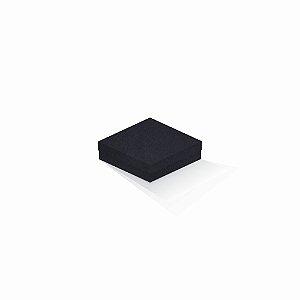 Caixa de presente | Quadrada F Card Scuro Preto 12,0x12,0x4,0