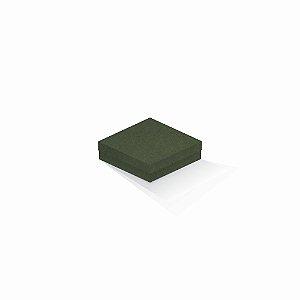 Caixa de presente | Quadrada F Card Scuro Verde 12,0x12,0x4,0