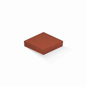 Caixa de presente | Quadrada F Card Scuro Laranja 15,5x15,5x4,0