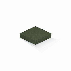Caixa de presente | Quadrada F Card Scuro Verde 15,5x15,5x4,0