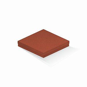 Caixa de presente | Quadrada F Card Scuro Laranja 20,5x20,5x4,0