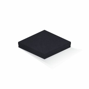 Caixa de presente | Quadrada F Card Scuro Preto 20,5x20,5x4,0