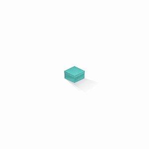 Caixa de presente | Quadrada Color Plus Aruba 5,0x5,0x3,5