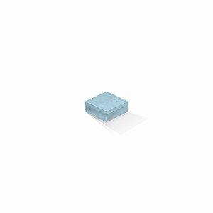 Caixa de presente | Quadrada Color Plus Santorini 7,0x7,0x3,5
