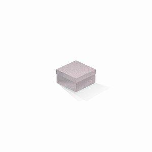 Caixa de presente | Quadrada Color Plus Metálico Ibiza 9,0x9,0x6,0
