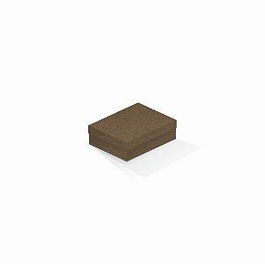 Caixa de presente | Retângulo F Card Scuro Marrom 10,0x13,0x3,5