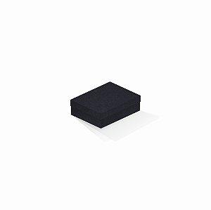 Caixa de presente | Retângulo F Card Scuro Preto 10,0x13,0x3,5