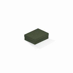 Caixa de presente | Retângulo F Card Scuro Verde 10,0x13,0x3,5