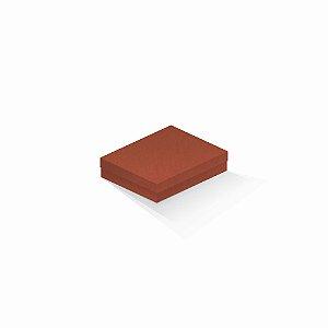 Caixa de presente | Retângulo F Card Scuro Laranja 12,0x15,0x4,0