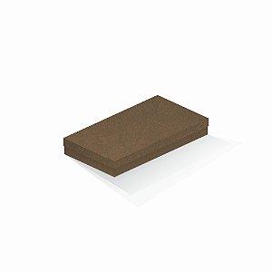 Caixa de presente | Retângulo F Card Scuro Marrom 13,0x24,5x4,0