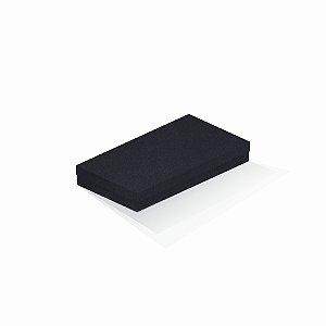 Caixa de presente | Retângulo F Card Scuro Preto 13,0x24,5x4,0
