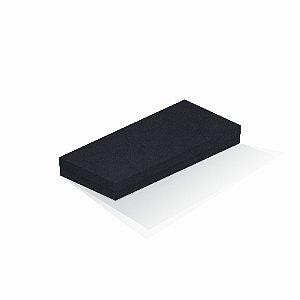 Caixa de presente | Retângulo F Card Scuro Preto 13,0x29,0x4,0