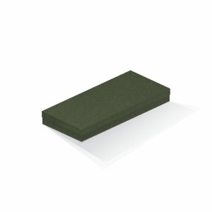 Caixa de presente | Retângulo F Card Scuro Verde 13,0x29,0x4,0