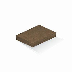 Caixa de presente | Retângulo F Card Scuro Marrom 16,0x22,5x4,0