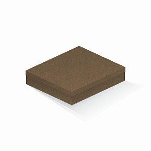 Caixa de presente | Retângulo F Card Scuro Marrom 21,7x27,7x5,0