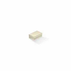 Caixa de presente | Retângulo Color Plus Marfim 5,0x8,0x3,5