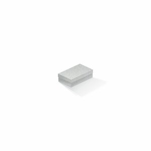 Caixa de presente | Retângulo Color Plus Metálico Aspen 6,0x10,0x3,5