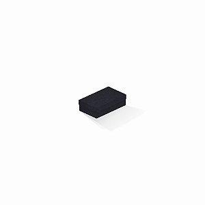 Caixa de presente | Retângulo F Card Scuro Preto 6,0x10,0x3,5