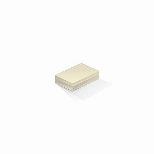 Caixa de presente | Retângulo Color Plus Marfim 8,0x12,0x3,5