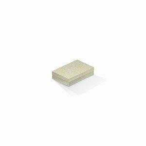 Caixa de presente | Retângulo Color Plus Metálico Majorca 8,0x12,0x3,5