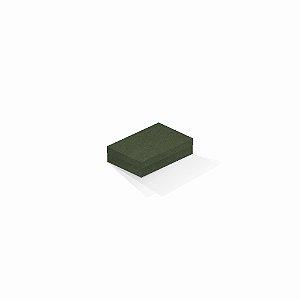Caixa de presente | Retângulo F Card Scuro Verde 8,0x12,0x3,5
