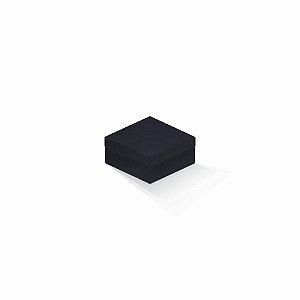 Caixa de presente | Quadrada F Card Scuro Preto-Preto 10,5x10,5x6,0